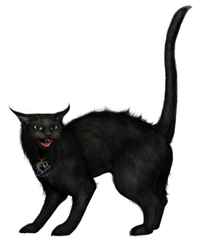 Black Cat clipart creepy PNG Gallery Halloween  PNG
