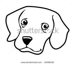 Black Cat clipart dog face Art Art – Dog Face