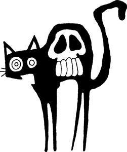 Black Cat clipart friday 13 Superstitious walk Magazine have Cat