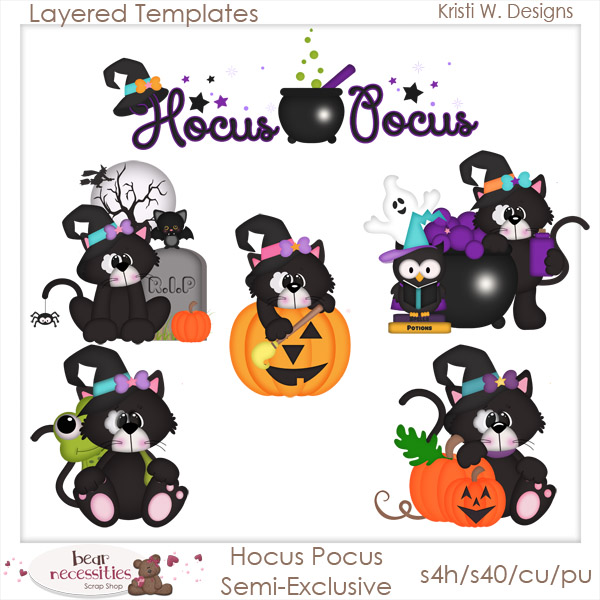 Black Cat clipart hocus pocus Products Pocus use W Art