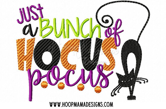 Black Cat clipart hocus pocus Pocus A A Just 4x4