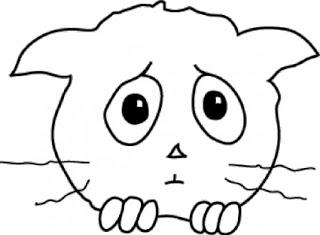 Black Cat clipart sad Car Cat Minder Art Facetoon