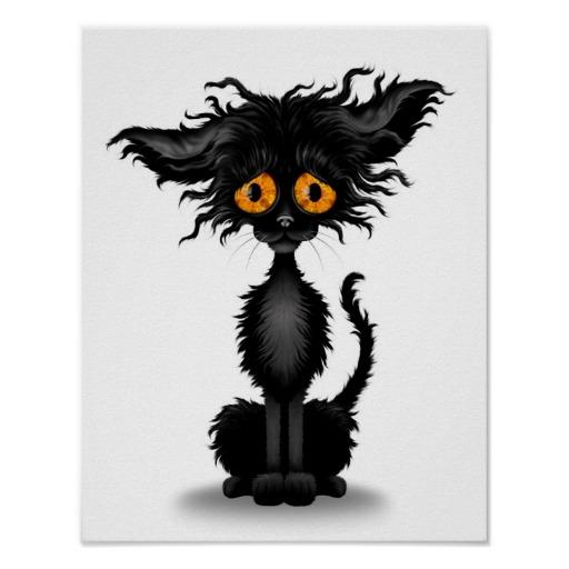 Black Cat clipart sad Cat Sad Cliparts Sad Kitten