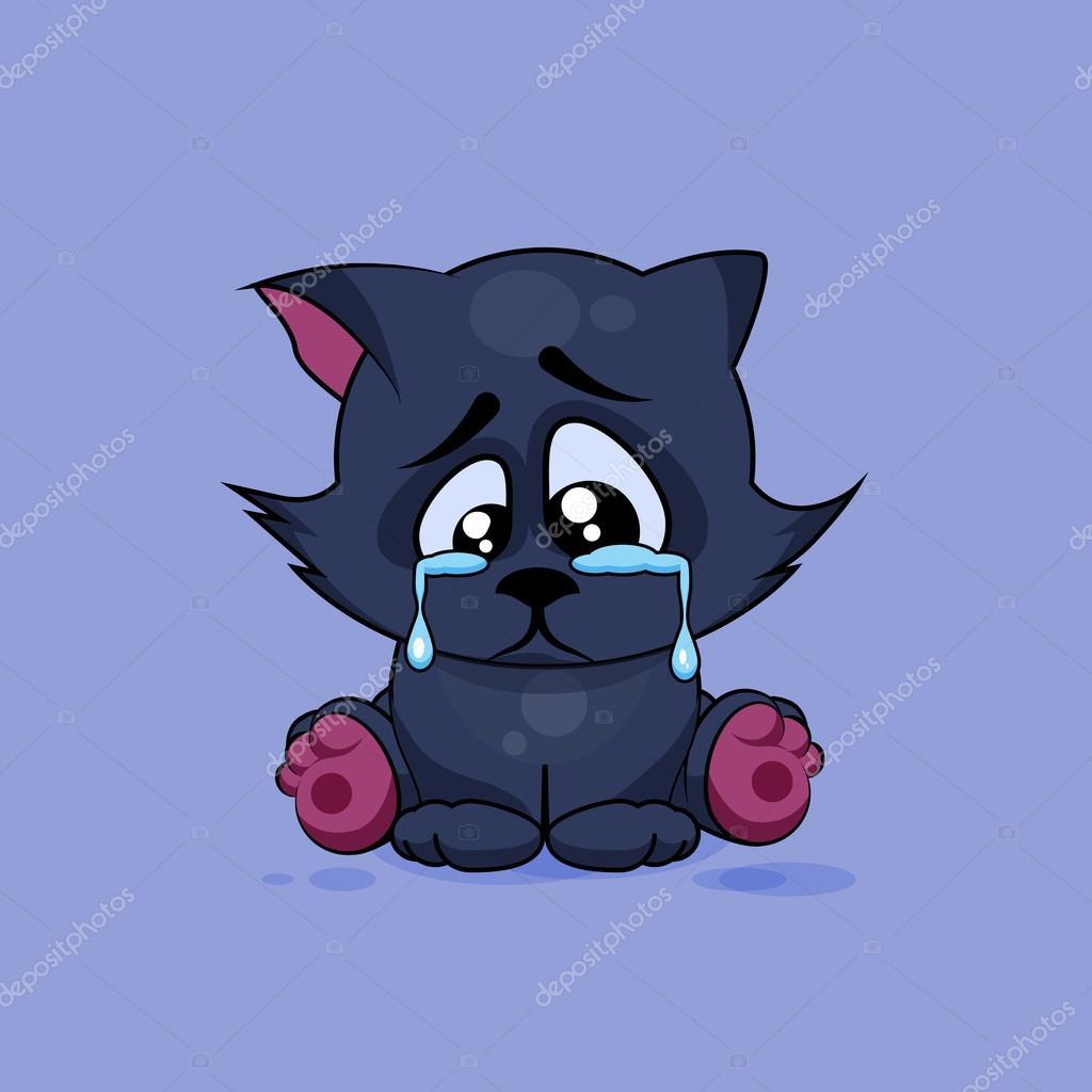 Black Cat clipart sad Stock cat © Sad Black