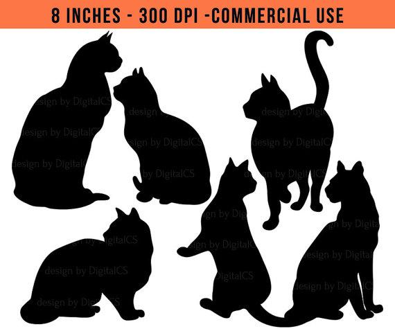 Black Cat clipart scrapbook Clipart Halloween Black clip clipart