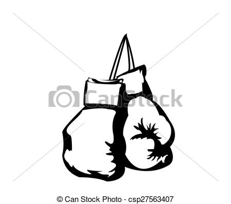 Fist clipart kickboxing glove Boxing gloves white black and