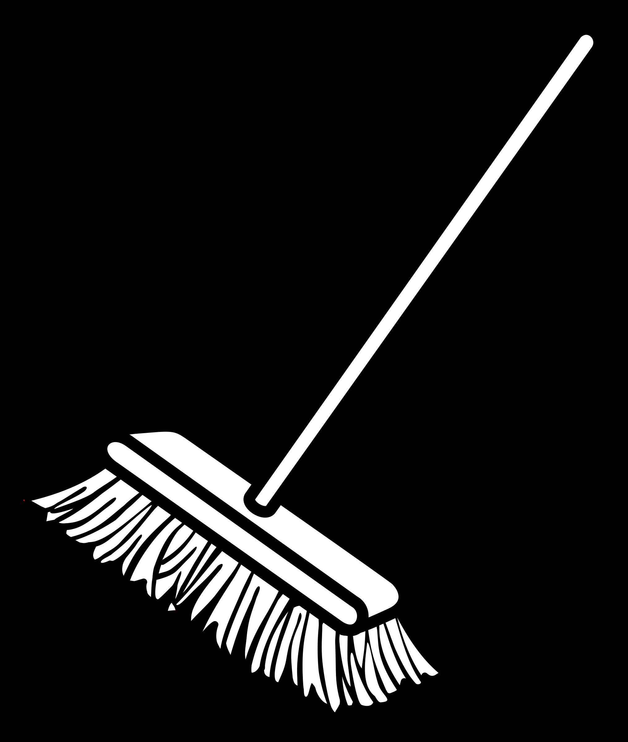 Black clipart broom Cliparts schliferaward Broom Clipart The