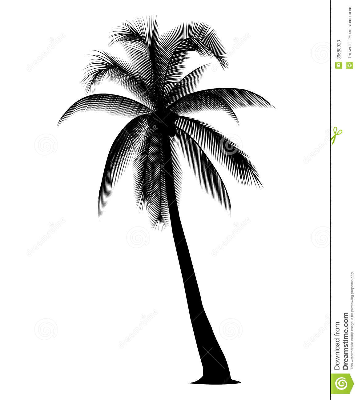 Black clipart coconut tree Collection Clipart clipart tree clip
