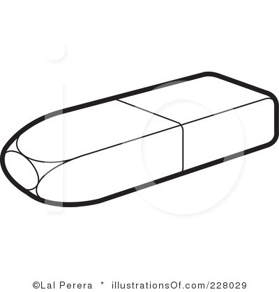 Black clipart eraser And Panda eraser%20clipart%20black%20and%20white Clipart Clipart