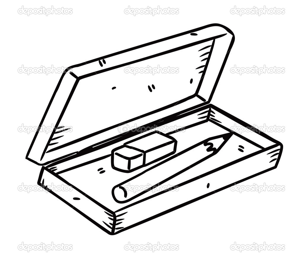 Black clipart eraser Pencil Clipart  And And