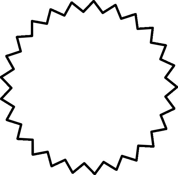 Black clipart starburst Download Black clip this image