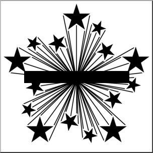 Black clipart starburst Clip and art starburst white