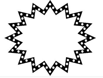 Black clipart starburst Starburst%20clipart%20black%20and%20white Clipart Starburst Clipart Panda
