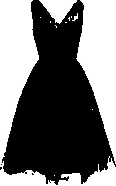 Dress clipart woman in black Cliparts Clip Dress Art Clip