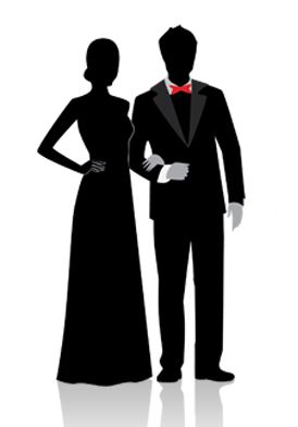 Shadow clipart prom #1