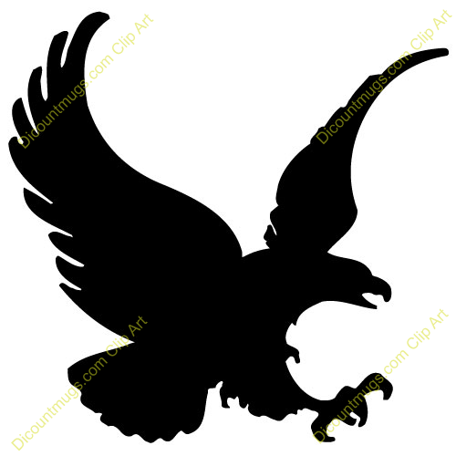 Black Eagle clipart black and white Info this Images Clipart Panda