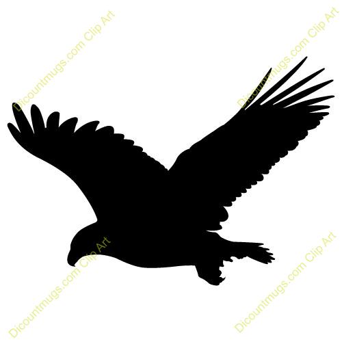 Black Eagle clipart black and white Black Eagle Download Clipart Eagle