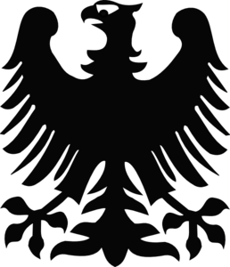 Black Eagle clipart black and white Art Eagle Clip online vector