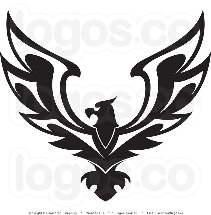 Black Eagle clipart american eagle On black images clipart American