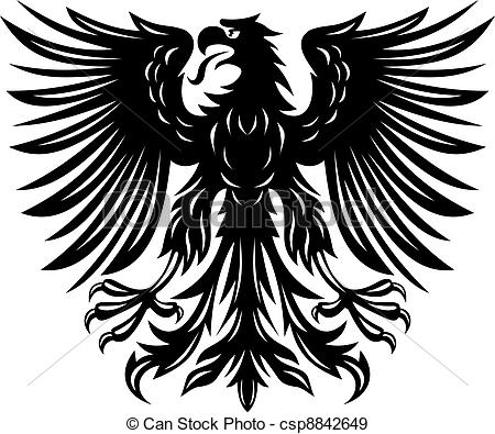 Black Eagle clipart german eagle For of  Vectors eagle