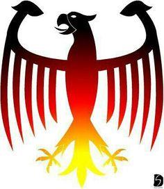 Black Eagle clipart german eagle Eagles black german Trim and