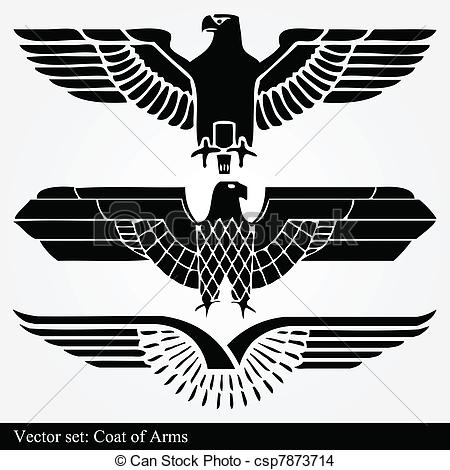 Black Eagle clipart german eagle Of csp7873714 vector heraldic Vector