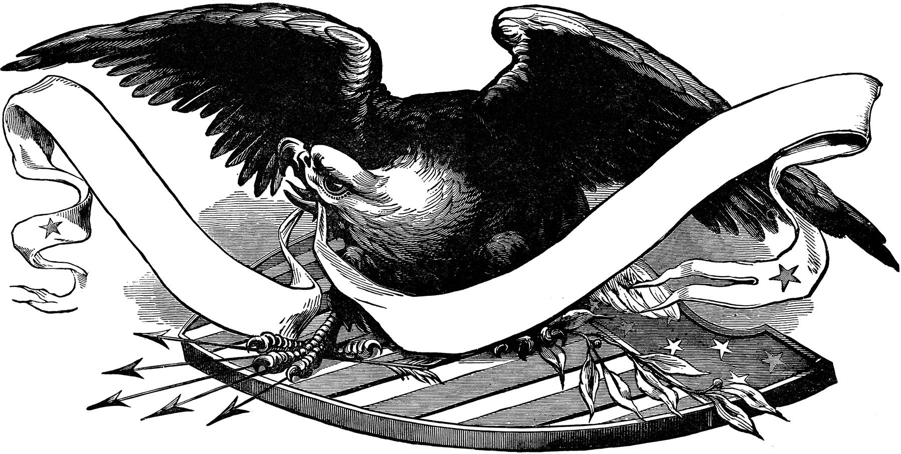 Black Eagle clipart patriotic Graphics Fairy Eagle The Image