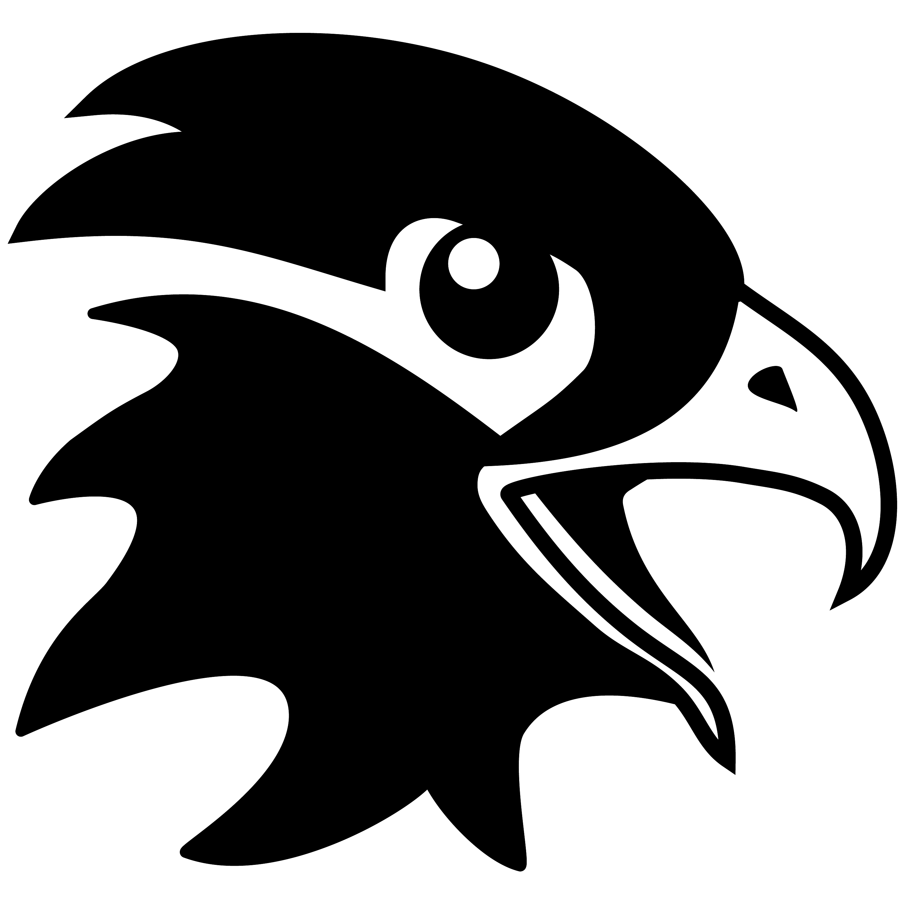 Black Eagle clipart black and white Dragons gallery for wings Vector