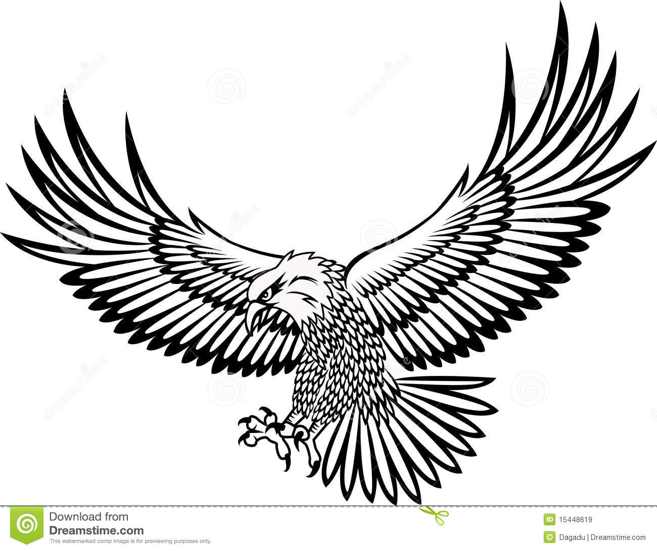 Drawn hawk flying Dragons tattoo hawks White