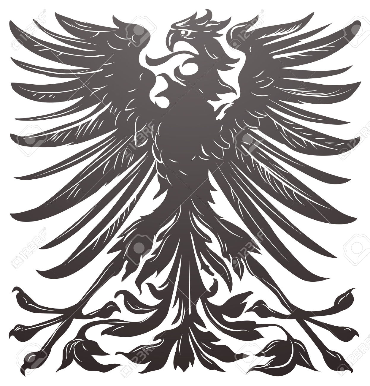 Black Eagle clipart roman eagle On Black my about Tattoo