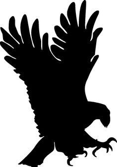 Black Eagle clipart black and white Art art Silhouette White