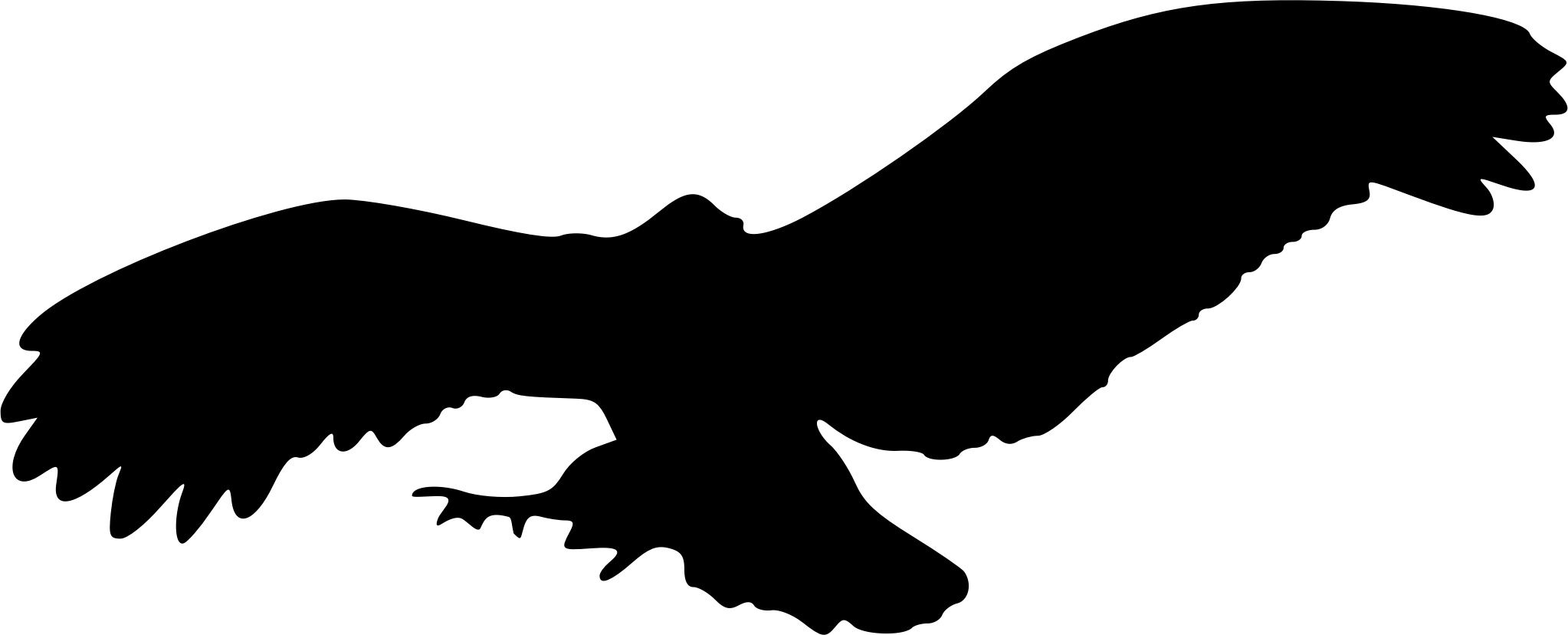 Black Eagle clipart silhouette 7 silhouette Clipart 7 Eagle