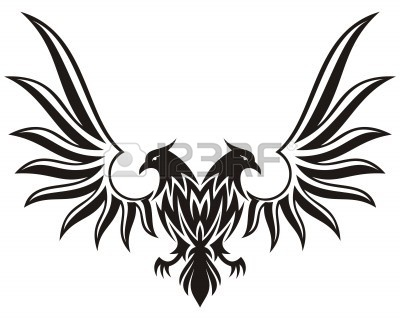Black Eagle clipart spread eagle Clipart wings And Clipart black