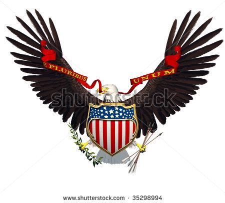 Black Eagle clipart spread eagle Free Clipart  Wings Eagle