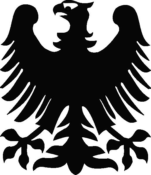Black Eagle clipart stylised Svg svg Download Download #19
