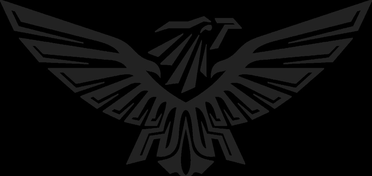 Black Eagle clipart transparent background Logo free logo download PNG