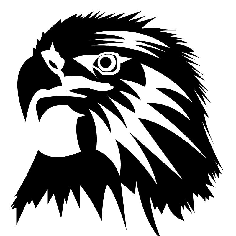 Black Eagle clipart transparent background And Eagle Images clipart white