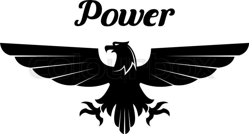 Black Eagle clipart vulture Icon white Heraldic heraldic vulture