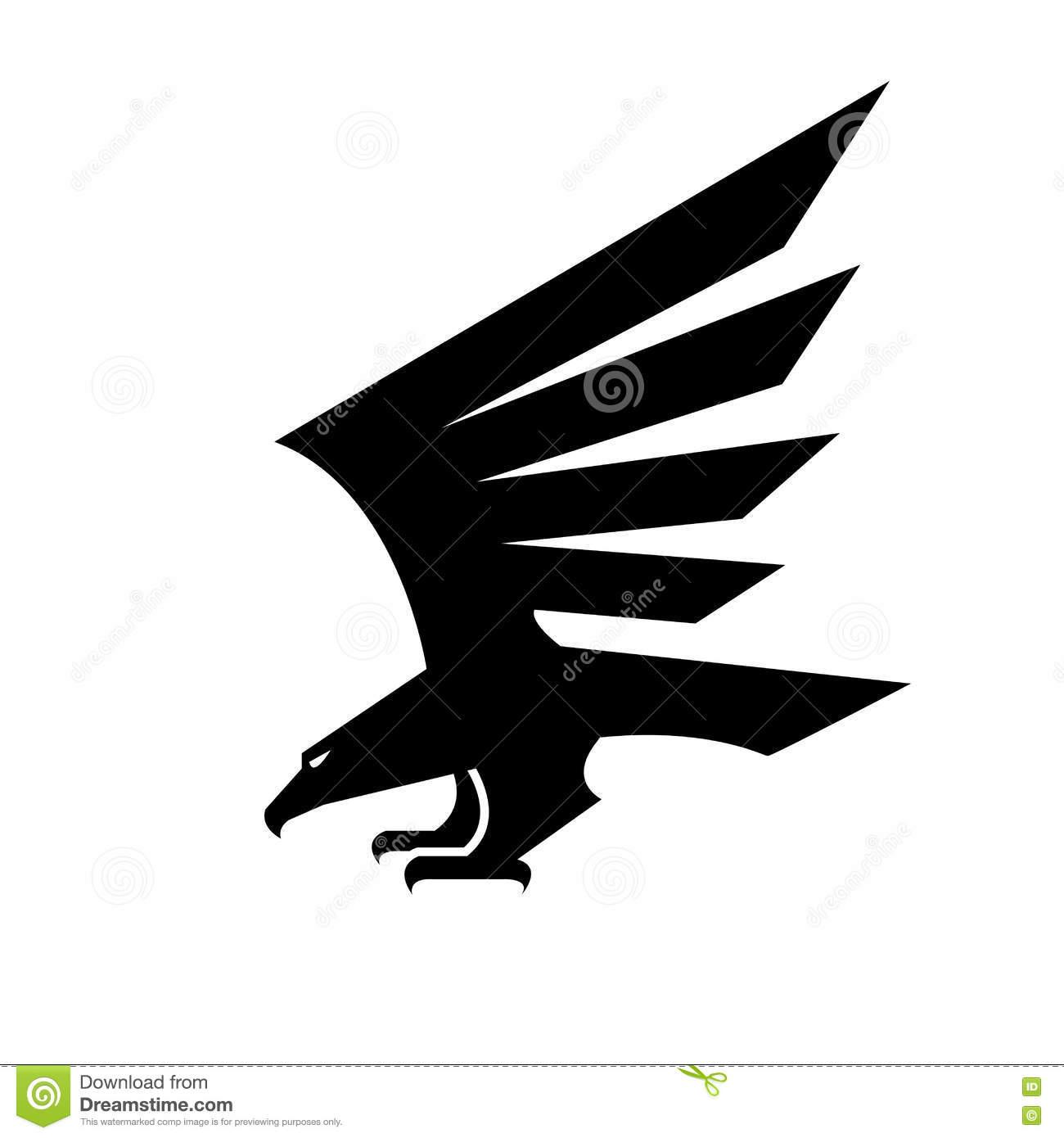 Black Eagle clipart vulture Icon white Black heraldic vulture