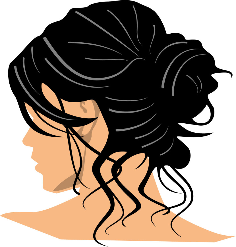 Dark Hair clipart Images Clipart Clipartion Free Hair