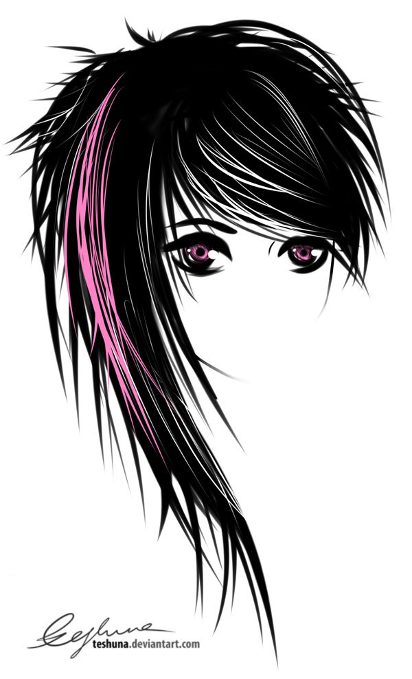 Drawn doll Styles* Emo images Pinterest 32