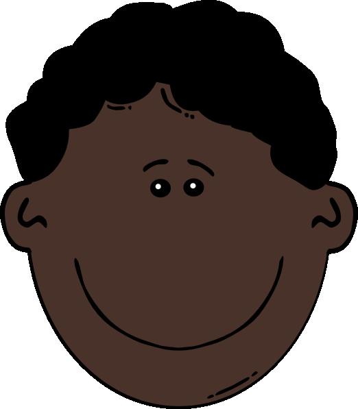 Black Hair clipart man face Royalty at Download image as: