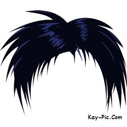 Black Hair clipart mens hair Progress men both Wig Originally