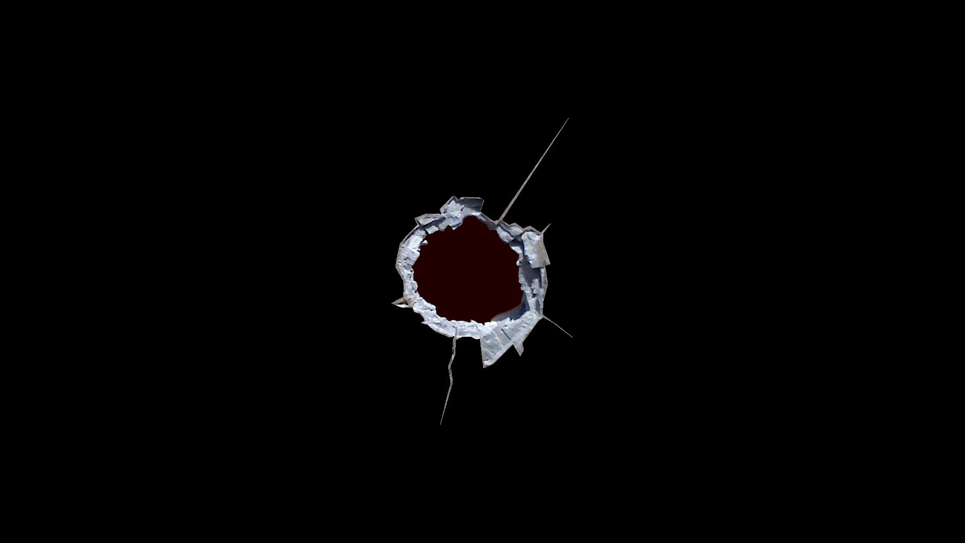 Black Hole clipart bullet hole PNG Hole Sharp transparent StickPNG