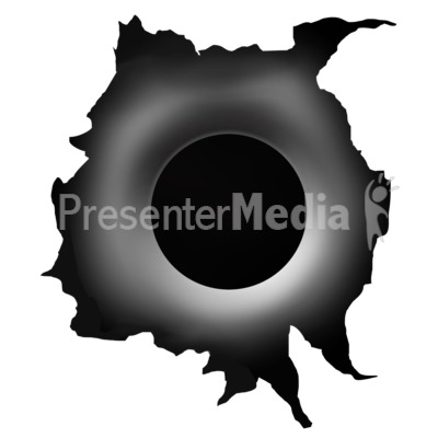 Black Hole clipart bullet hole Art Clipart Signs PowerPoint