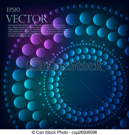 Black Hole clipart dot Or outer graduated dots graduated