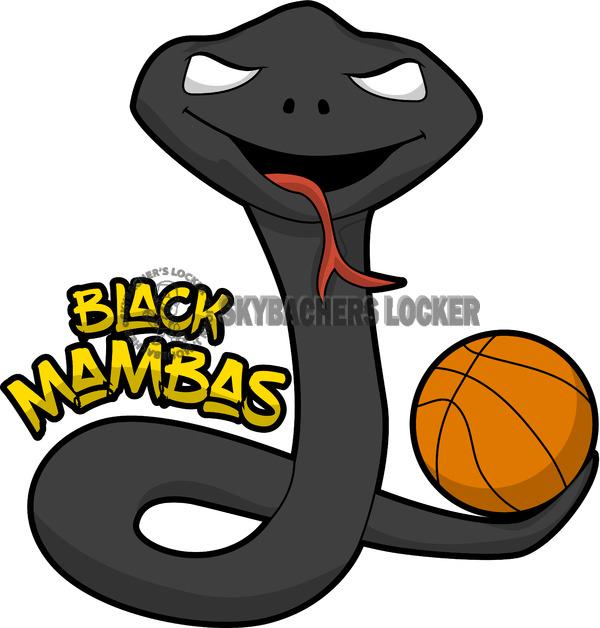 Black Mamba clipart colored Skybacher's  Locker Team Black
