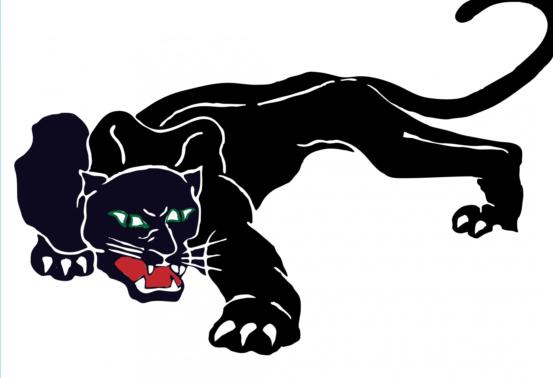 Black Panther clipart Panther Domain Panther Pictures Public