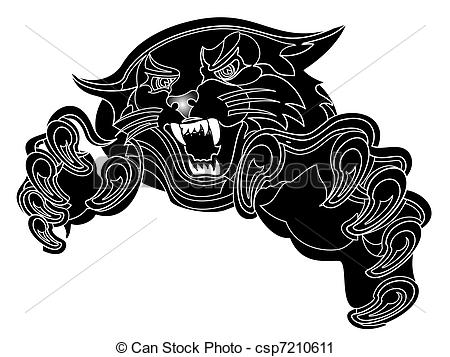 Black Panther clipart The and is Art panther