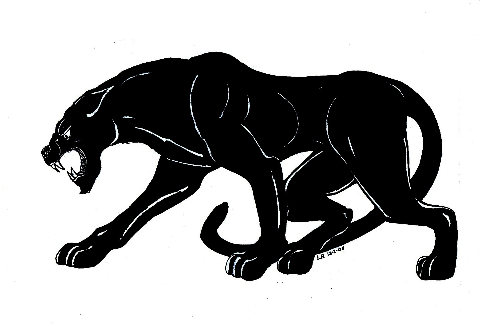 Drawn panther Savoronmorehead Panther Image Panther Top